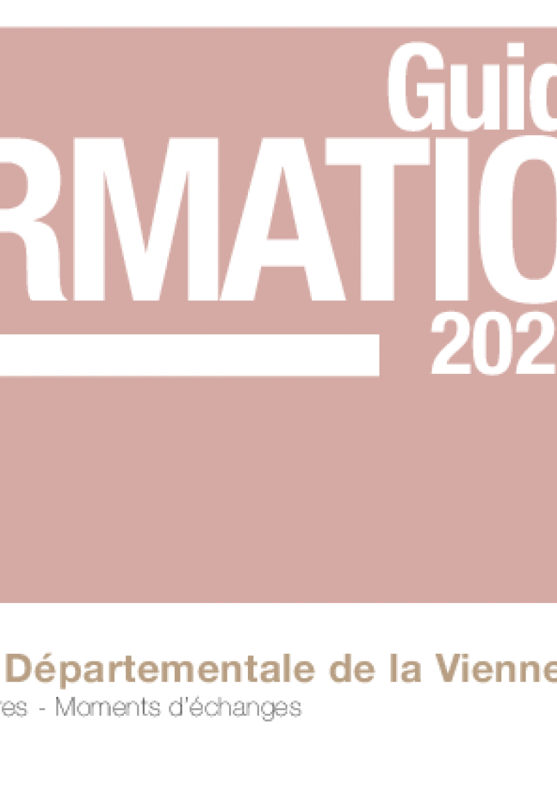 BDV Vienne – catalogue formations 2021