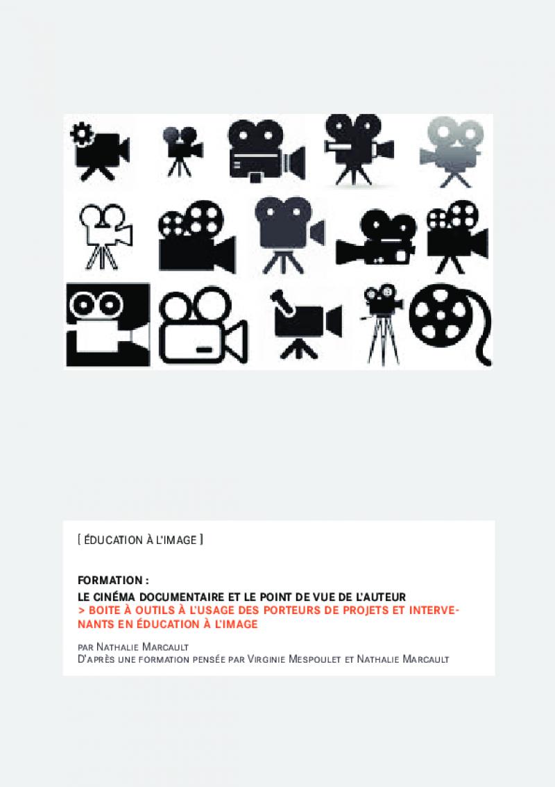 Boîte à outils – cinéma documentaire et point de vue de l'auteur 2018