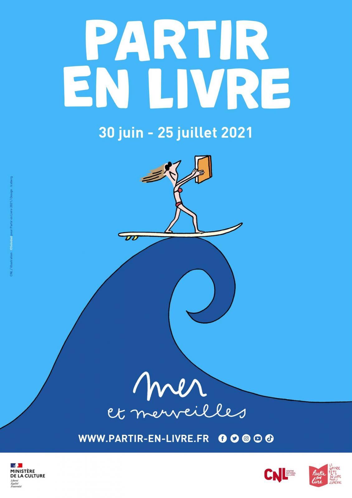 Partir en livre : présentation de l'édition 2021   ALCA Nouvelle-Aquitaine